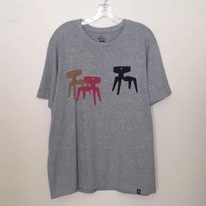 Uniqlo SPRZNY X Eames DCW Chairs Tshirt  Size XL